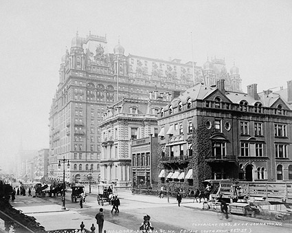 Waldorf-Astoria Hotel New York City 1899 Photo Print