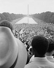 Washington D.C. Civil Rights March Leffler 1963 Photo Print for Sale