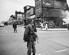 Washington D.C. Riots After MLK Death, 1968 Photo Print for Sale