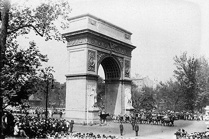 Washington Square Park Arch, New York City Photo Print