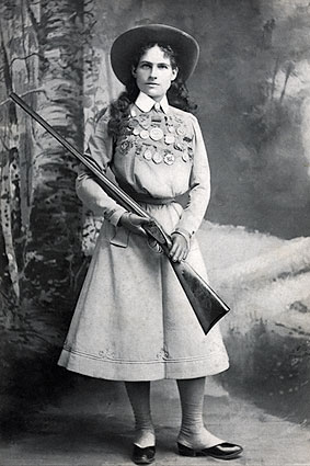 Wild West Performer Annie Oakley Photo Print