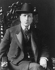 William Randolph Hearst Seated Portrait Photo Print for Sale
