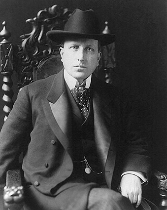 William Randolph Hearst Seated Portrait Photo Print