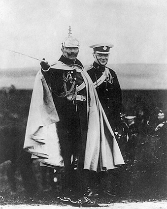 Winston Churchill and Kaiser Wilhelm Photo Print