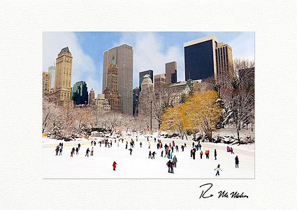 Wollman Rink Central Park New York City Boxed Christmas Cards