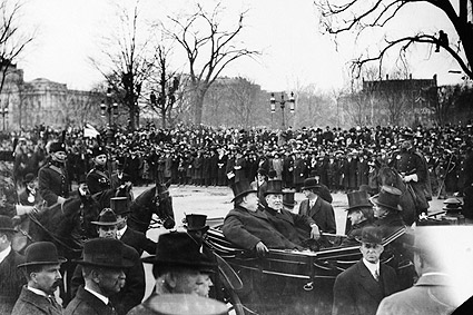 Woodrow Wilson & William Howard Taft at Inauguration 1913 Photo Print