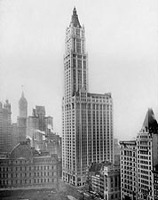 Woolworth Building 1913 New York City 1913 Photo Print for Sale