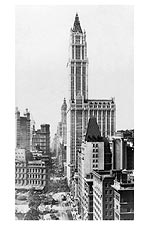Woolworth Building & Broadway NYC 1913 Photo Print for Sale