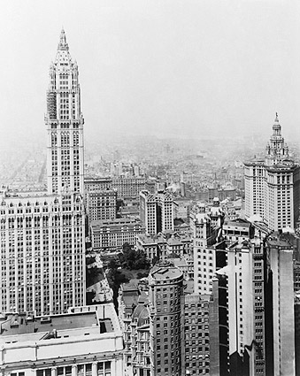 Woolworth Building New York City 1916 Photo Print