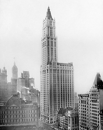 Woolworth Building New York City NYC 1912 Photo Print