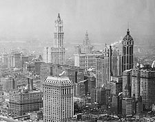 Woolworth & Singer Building, New York City Photo Print for Sale