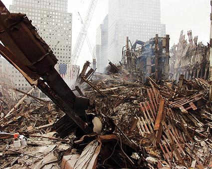 World Trade Center Rubble 9/11 Photo Print
