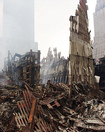 World Trade Center Steel Framework 9/11 Photo Print