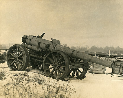 World War 1 Artillery Gun Photo Print