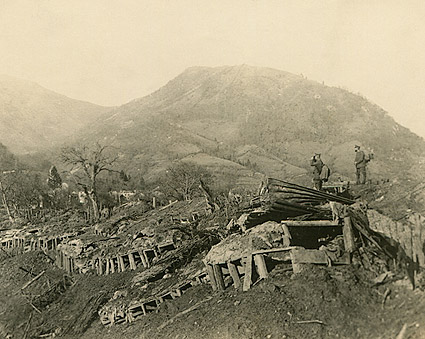 World War 1 Battlefield After Battle Photo Print