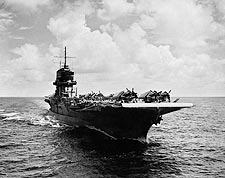 World War 2 Aircraft Carrier Photo Print for Sale