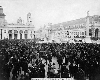 Worlds Columbian Exposition Opening Day Photo Print
