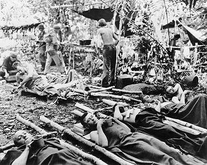 Wounded Soldiers in Australia WWII Photo Print