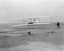 Wright Brothers Kitty Hawk 1st Flight 1903 Photo Print