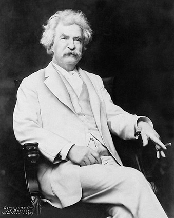 Writer Mark Twain Portrait 1907 Photo Print