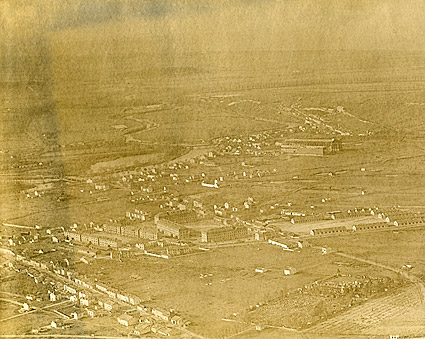 WWI Aerial View of Verdun, France Photo Print