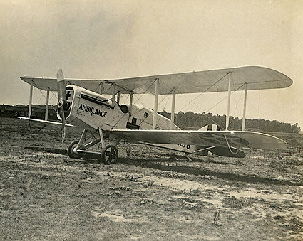 WWI Air Ambulance Biplane 1918 Photo Print