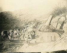 WWI Artillery at Battle of Ch�teau-Thierry 1918 Photo Print for Sale