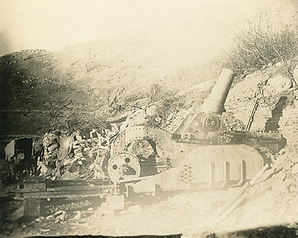 WWI Artillery at Battle of Château-Thierry 1918 Photo Print