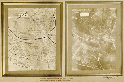 WWI Battle Plan Chart Photo Print