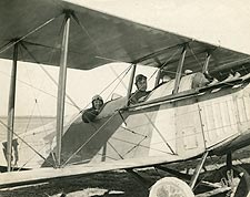 WWI Biplane Crew Photo Print for Sale
