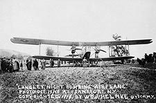 WWI Langley Night Bomber Plane Photo Print for Sale