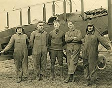 WWI Pilot and Crew 50th Aero Squadron Langley Field Photo Print for Sale