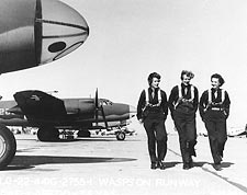 WWII Air Force WASPs on Flight Line  Photo Print for Sale