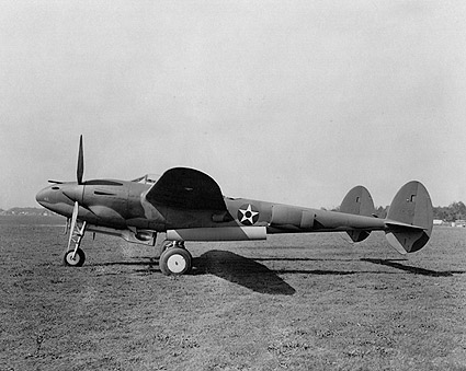 WWII Aircraft Lockheed P-38 Lightning  Photo Print
