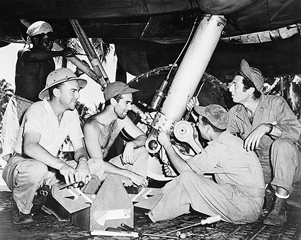 WWII Army Air Force Mechanics Repair B-17 Photo Print