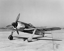 WWII Focke-Wulf Fw 190 German Aircraft Photo Print
