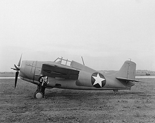 WWII Grumman F4F-3 Wildcat  Photo Print