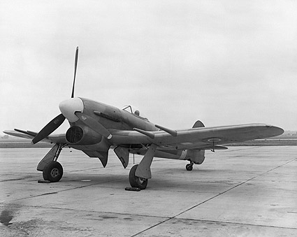 WWII Hawker Typhoon British Aircraft Photo Print