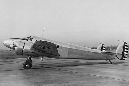 WWII Lockheed C-40 Aircraft Photo Print