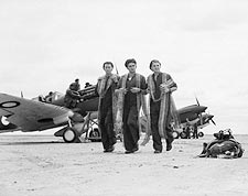 WWII P-40 Warhawk Flight Crew w/ Ammunition Photo Print for Sale