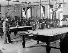 WWII Soldiers Playing Pool YMCA Jerusalem Photo Print for Sale