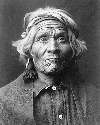 Wyemah Indian Edward S. Curtis Portrait Photo Print