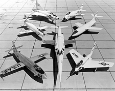 X-1 D-558 XF-92 X-5 X-4 & X-3 Fleet Photo Print