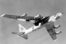 X-15 Mated to B-52 in Flight Photo Print