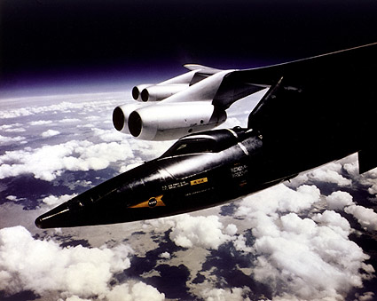 X-15 Mounted to B-52 Mothership Photo Print