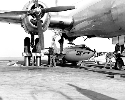 X-1E Loaded in B-29 Mothership X-1 Photo Print
