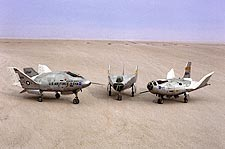 X-24A, M2-F3 & HL-10 Lifting Bodies NASA Photo Print for Sale
