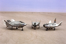 X-24A, M2-F3 & HL-10 Lifting Bodies NASA Photo Print