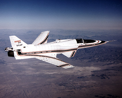 X-29 Aircraft in Flight NASA Photo Print