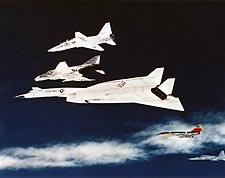 XB-70 Valkyrie Aircraft Formation in Flight Photo Print for Sale